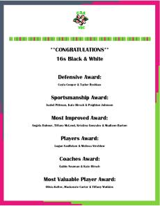 2014 T16s Award Receipents